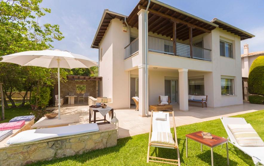 luxury villa in Halkidiki, Pefkohori, Oleander